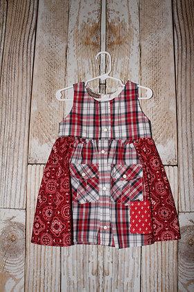Red Cactus dress
