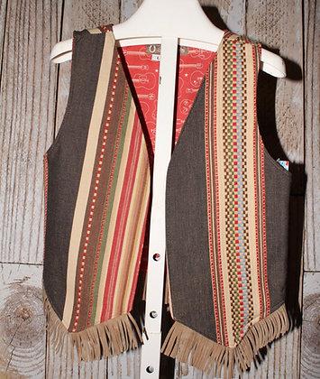 Western stripes Vest