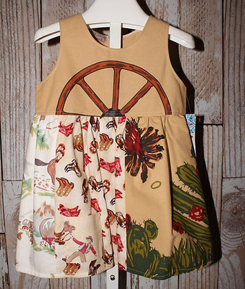 Wagon Wheel dress
