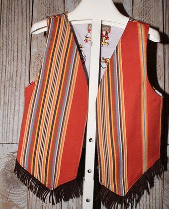 Boy's western vest.