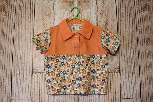 Orange boy's shirt