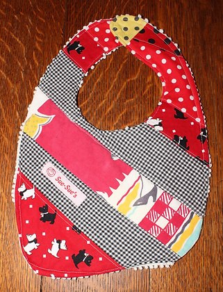 Scotty dogs bib
