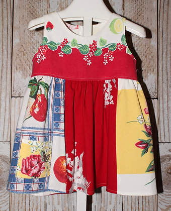 Fruits and Flowers Dress