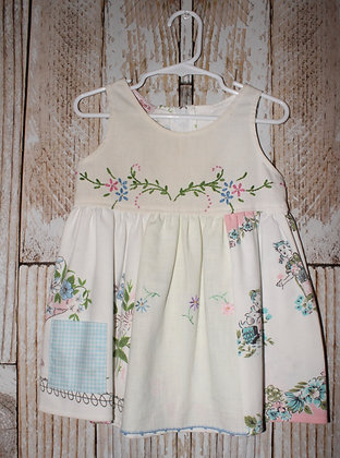Kids and puppies dress