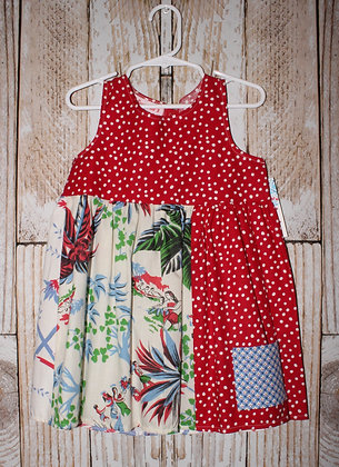 Tropical Vacation dress.