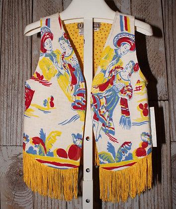 Mexican dancers vest