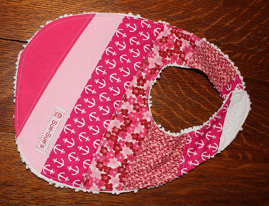 Hot pink bib