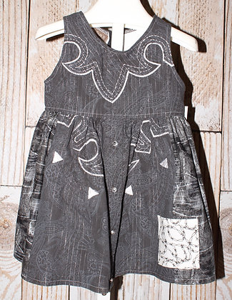 Barbed wire Western Dress