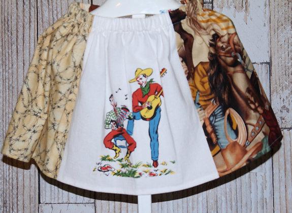 Singing Cowboys Skirt