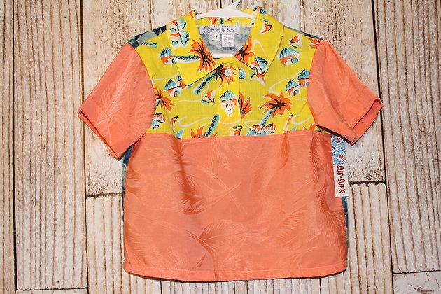 Hawaiian breeze boy's shirt