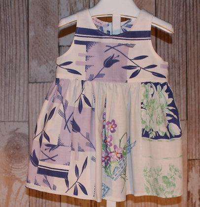 Purple Violets Dress