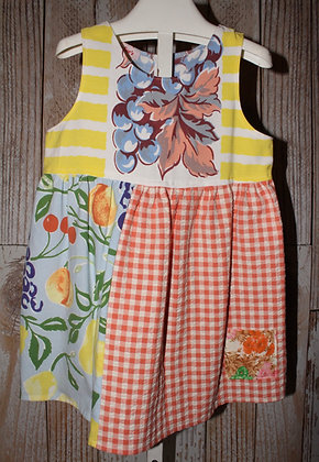 Pears and Grapes Dress