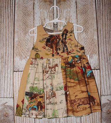 Cowboys on the Range dress