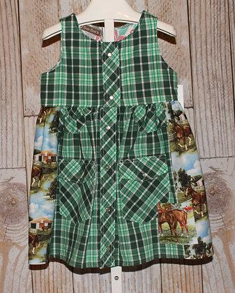 Horses in paddocks Dress