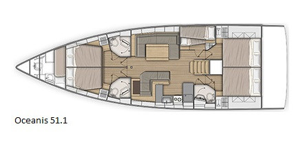 Cavo Yachting _ Oceanis 51.1 Charter _ l