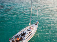 Cavo Yachting _ Sun Odyssey 479 Charter _ Aerial View