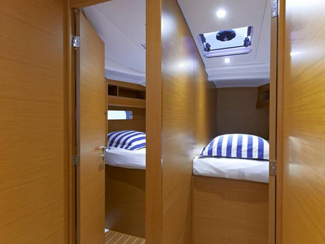 Cavo Yachting _ Sun Odyssey 479 Charter _ Cabins