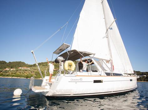 Cavo Yachting _ Beneteau Oceanis 45