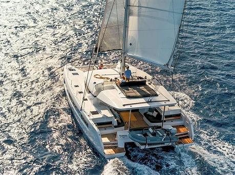 Ozelo _ Lagoon 50 _ Luxury Catamaran in Greece