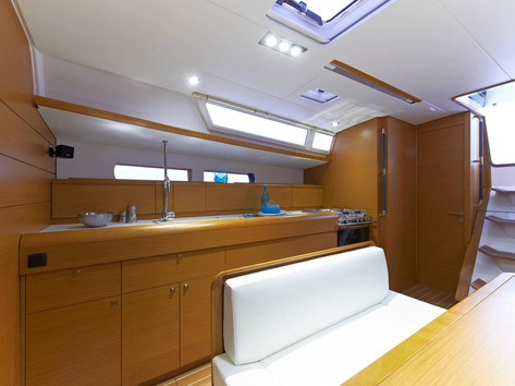 Cavo Yachting _ Sun Odyssey 479 Charter _ Galley