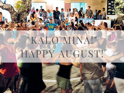 """KALO MINA!"" Let's welcome August, the most cherished month of the year!"