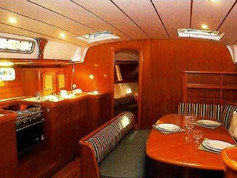 Cavo Yachting _ Beneteau Oceanis Clipper 461 Charter _ Galley