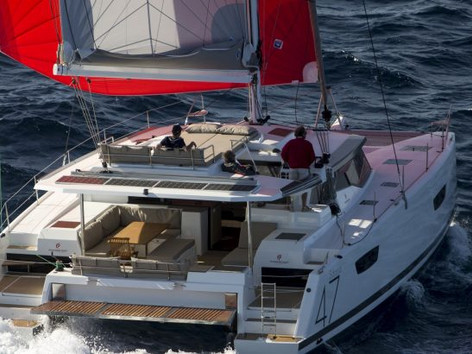 Cavo Yachting _ Fountaine Pajot 47 Charter _ At Sea