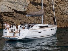 Cavo Yachting _ Sun Odyssey 479 Charter _ At Anchor