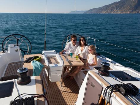 Cavo Yachting _ Sun Odyssey 479 Charter _ Swimming Platform
