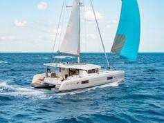 Cavo Yachting _ Lagoon 42 Charter _ At Sea