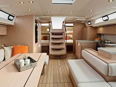 Cavo Yachting _Oceanis 51.1 Charter _Salon
