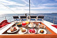 Cavo Yachting _ Food onboard