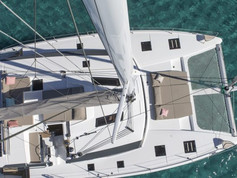Cavo Yachting _ Fountaine Pajot 47 Charter _ Aerial View
