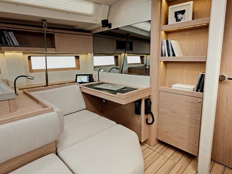 Cavo Yachting _Oceanis 51.1 Charter _ Salon