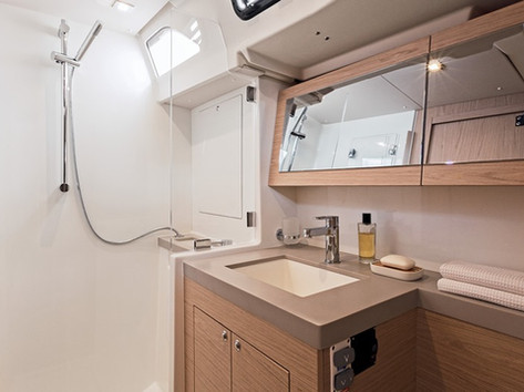 Cavo Yachting _Oceanis 51.1 Charter _ Bathroom