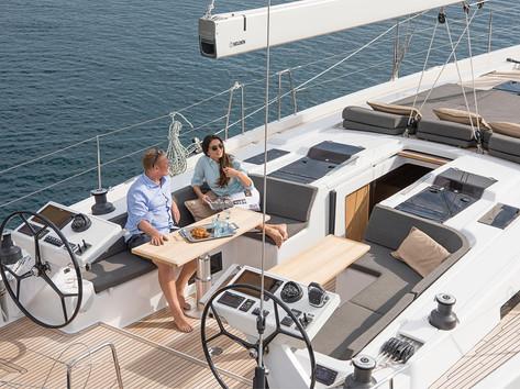 Cavo Yachting _ Hanse 588 Charter_ Cockpit