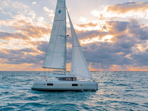 Cavo Yachting _ Lagoon 42 Charter _ At Sea