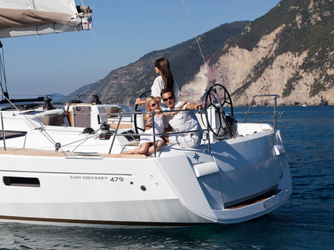 Cavo Yachting _ Sun Odyssey 479 Charter _ Cockpit