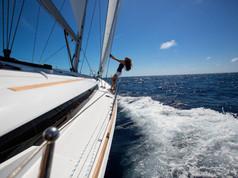 Cavo Yachting _ Sun Odyssey 479 Charter _ At Sea