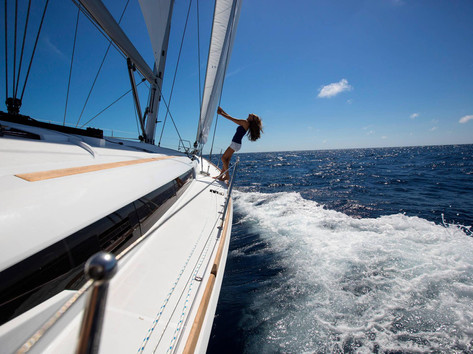 Cavo Yachting _ Sun Odyssey 479 Charter _ At Sea