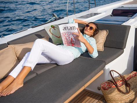 Cavo Yachting _ Hanse 588 Charter_ Lounge