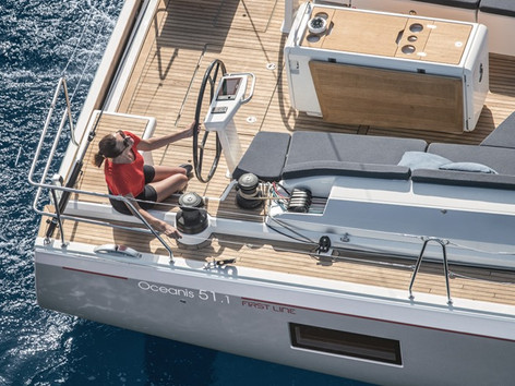 Cavo Yachting _Oceanis 51.1 Charter _Cockpit