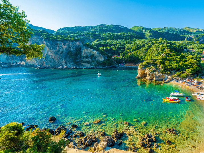 Beaches-on-Corfu-Island-Ionian-Sea-Greec