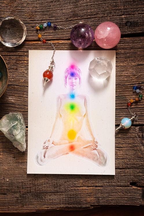 Chakra Pendulum Dowsing & Intuitive Guidance Email Reading