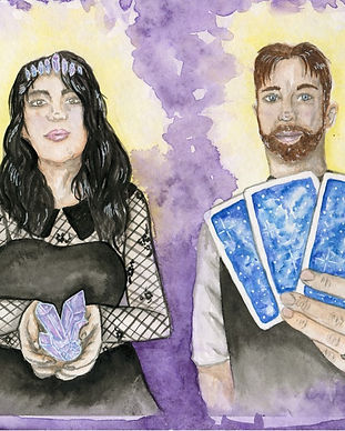 The Hermit and The High Priestess Readin