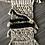 Thumbnail: Cream and Black Macrame Wall Hanger