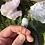 Thumbnail: Blue Agate Single Wire Wrap Pin