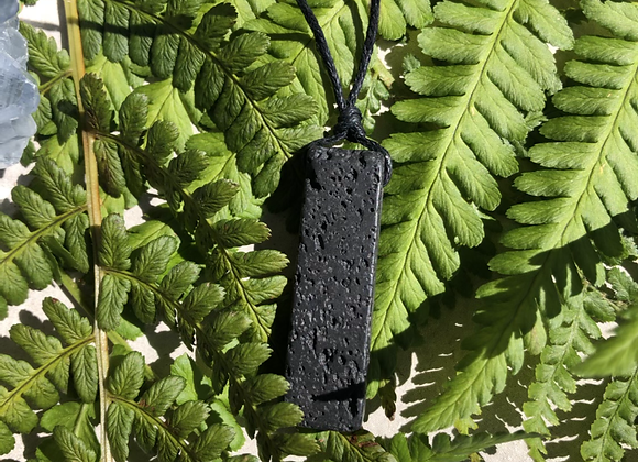 Lava Stone Pendant Necklace