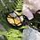 Thumbnail: Bumble Bee Jasper Macrame Necklace