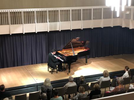 Radiogruss an die KGG als Dank für das Klavierrezital von Martin Stadtfeld